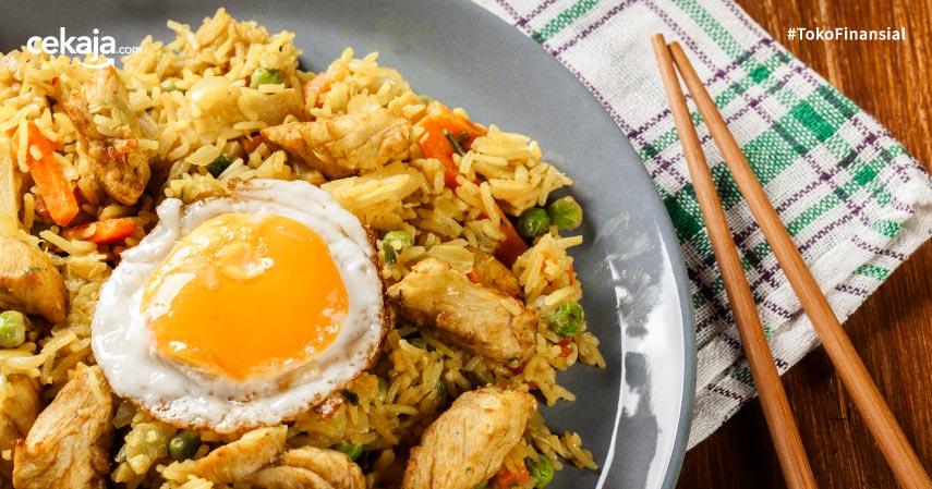 Mengenal Jenis Nasi Goreng, Menu yang Disantap Saat Pertemuan Mega - Prabowo!