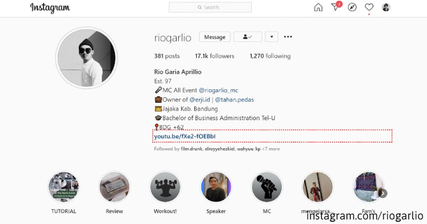 Endorse ke akun influencer - tips dagang di Instagram