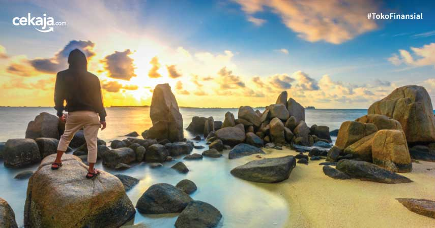 Wisata Bintan Pantai Laut