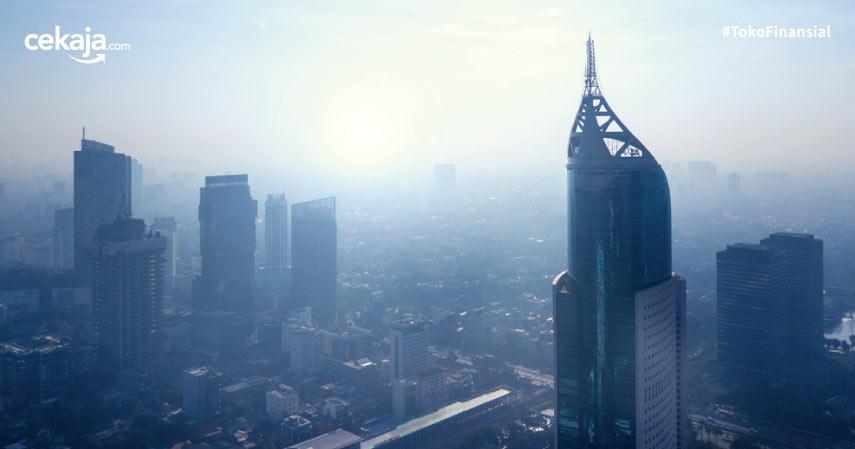Jakarta kota terpolusi di dunia