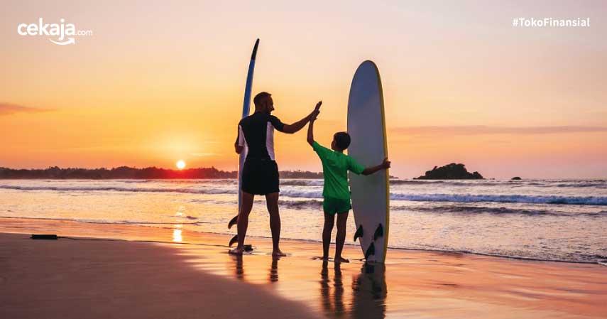 Khusus Warga Lokal! Ini Rekomendasi Pantai Buat Berjemur Sinar Matahari Biar Sehat
