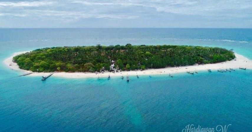 Kadar oksigen tertinggi - Pulau Gili Iyang