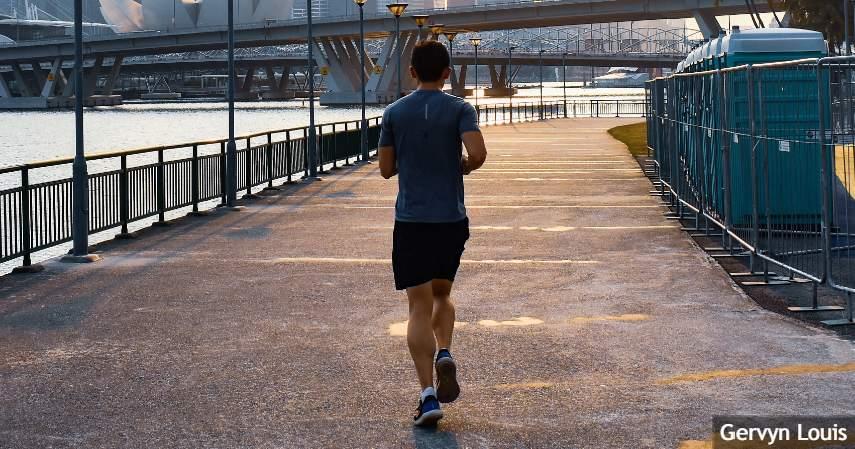 Pemanasan dan olahraga kecil - liburan sehat