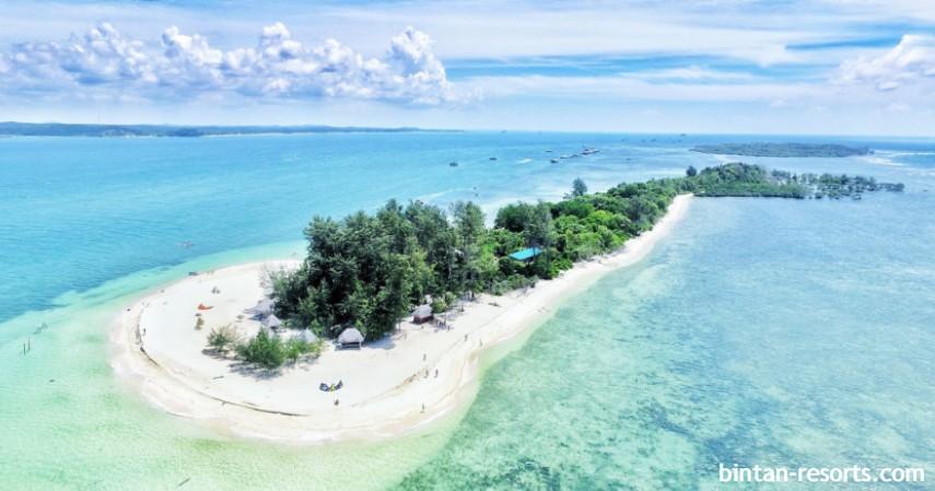 Pulau Beralas Pasir - Wisata alam di Bintan