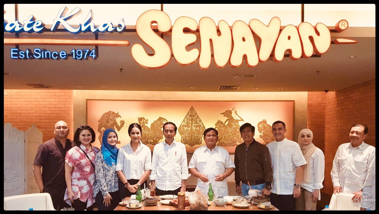 Moza Pramita Jokowi Prabowo
