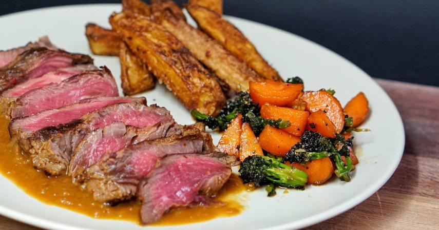 Minim lemak dan kalori - Manfaat daging kambing untuk kesehatan
