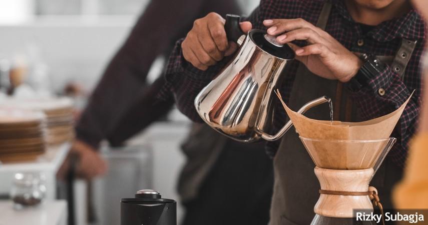 Punya mesin kopi sendiri