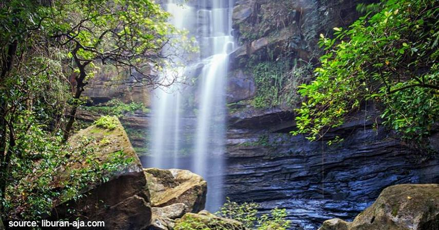 Air terjun tembinus - Objek Wisata Khas Penajam Paser dan Kutai Kertanegara