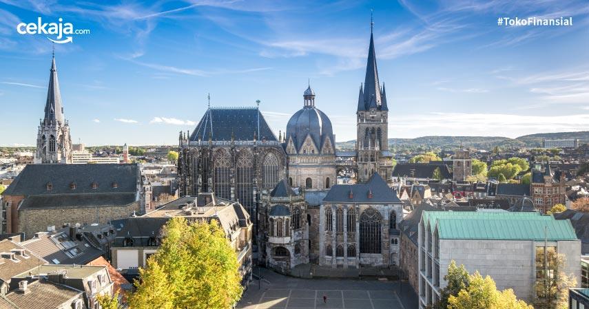 Kota Aachen Jerman