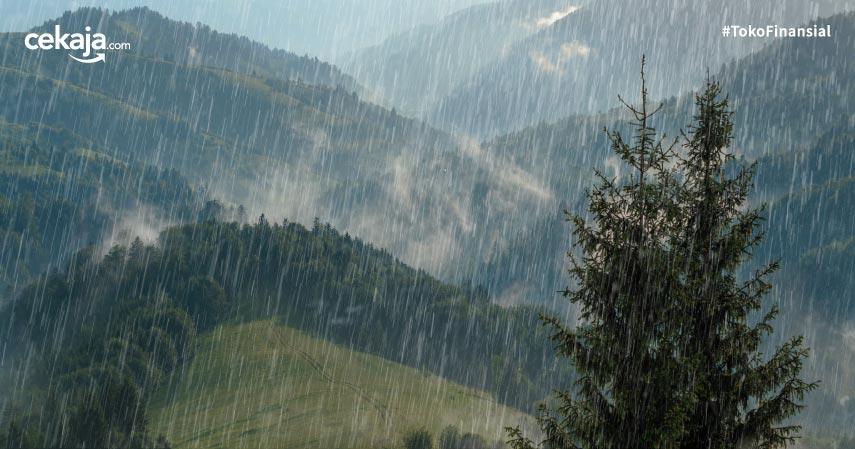 Cuaca Buruk, Puluhan Wilayah Dapat Peringatan Dini Dari BMKG!