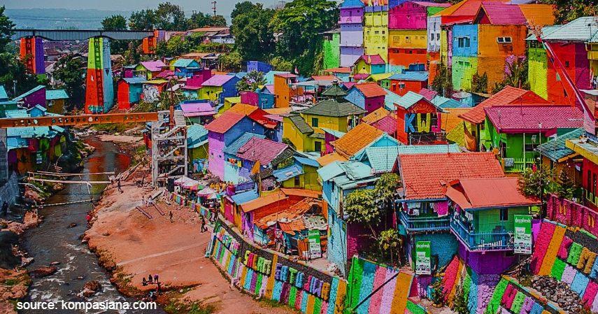Kampung warna warni palmerah - Kampung tematik palmerah