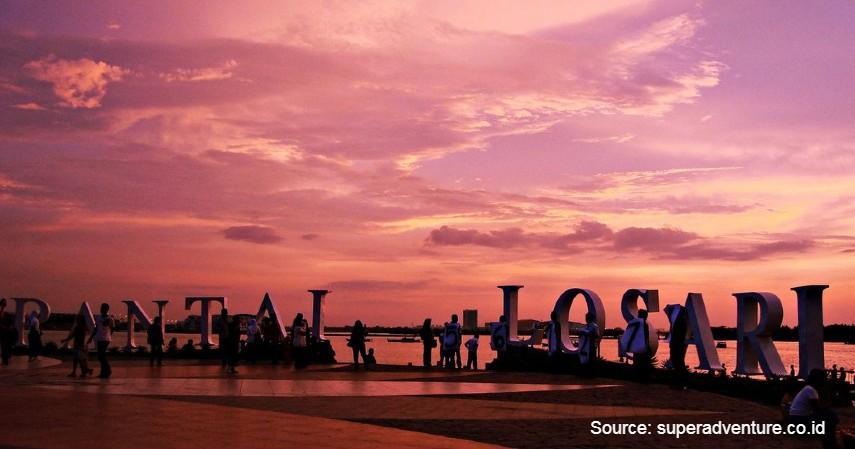 Pantai Losari - Pantai Terbaik untuk Menikmati Senja di Tanah Celebes