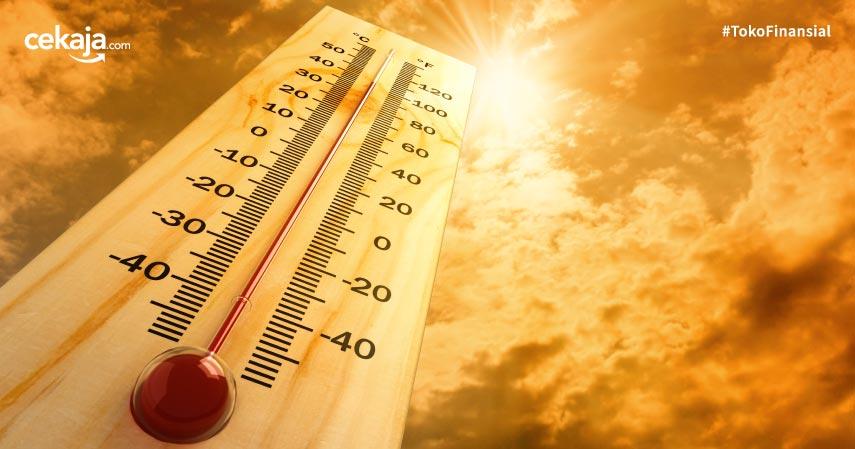 Tetap Sehat Ya, Soalnya Suhu Panas Masih Melanda