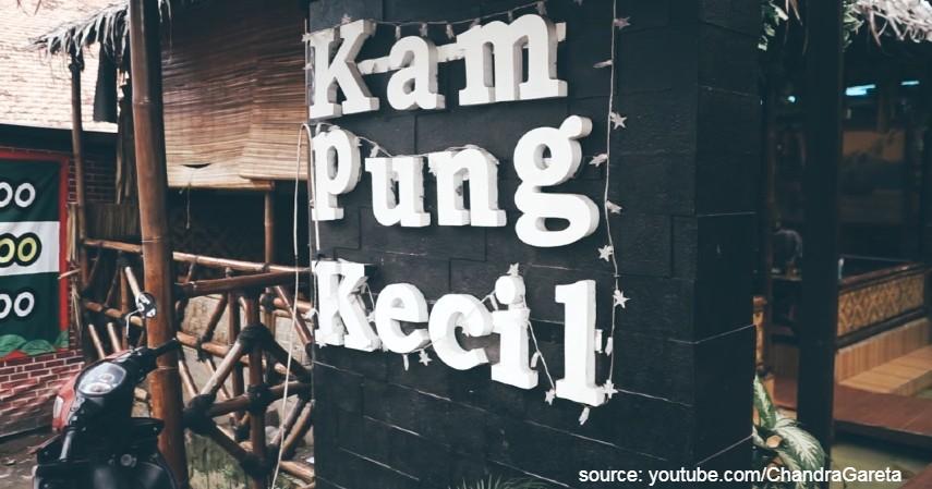 Kampung Kecil Palembang - Daftar Kuliner Murah di Palembang Harga Kaki Lima Kualitas Bintang Lima