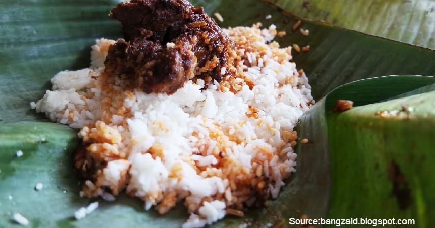 Nasi Itik Gambut Tenda Biru - 5 Tempat Terbaik Wisata Kuliner Enak dan Murah di Banjarmasin yang Wajib Kamu Kunjungi