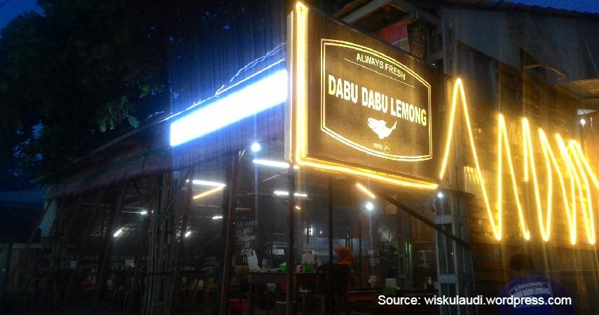 Rumah Makan Dabu Dabu Lemong - Mau Wisata Kuliner di Manado Harga Murah_ Ini Rekomendasinya