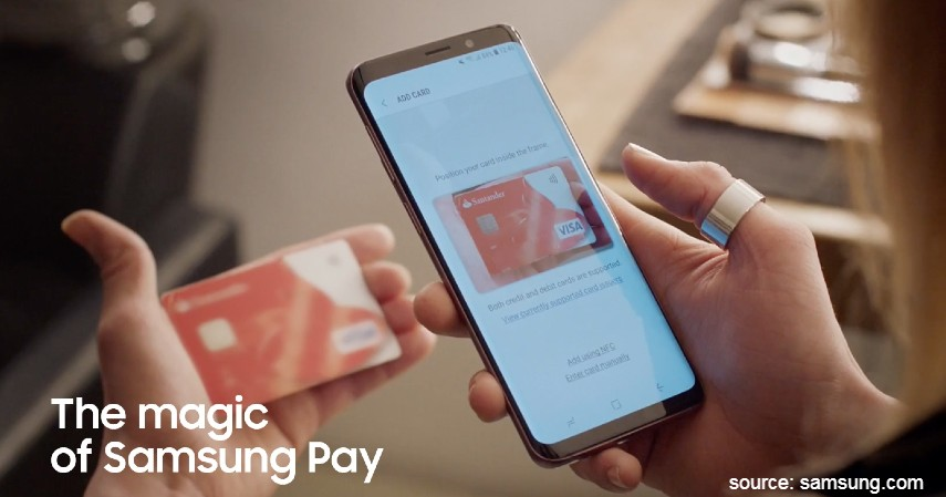 Samsung pay - Ragam E-Wallet yang Asik Buat Belanja Terbaru ada Samsung Pay
