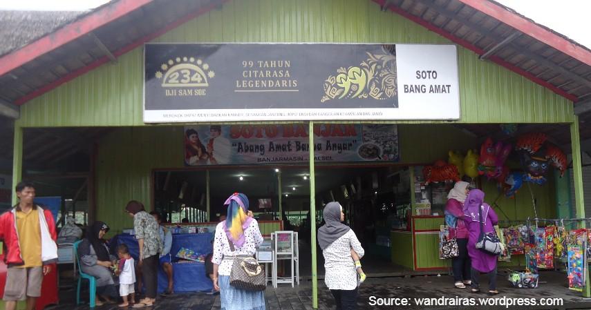 Soto Bang Amat - 5 Tempat Terbaik Wisata Kuliner Enak dan Murah di Banjarmasin yang Wajib Kamu Kunjungi