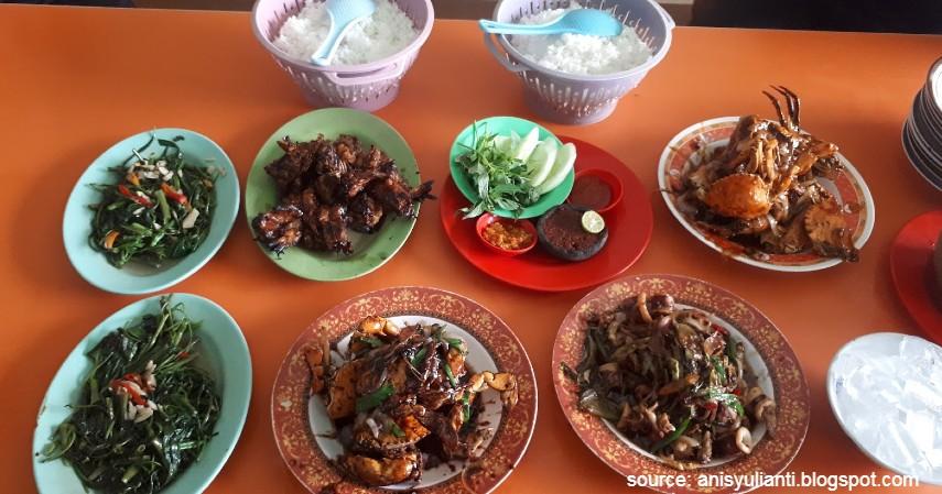 Warung pak sangklak - Kuliner Seafood yang Enak dan Murah di Semarang Dijamin Bikin Ngiler