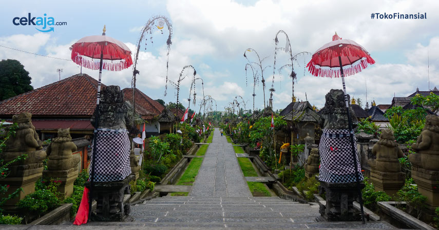 Predikat Desa Terbersih di Dunia Berhasil diraih Desa Penglipuran Bali, Kok Bisa?