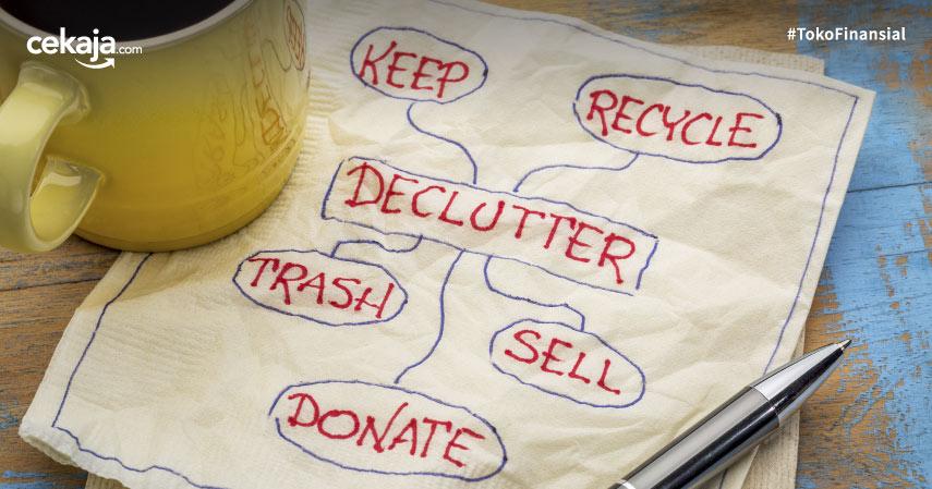 metode decluttering