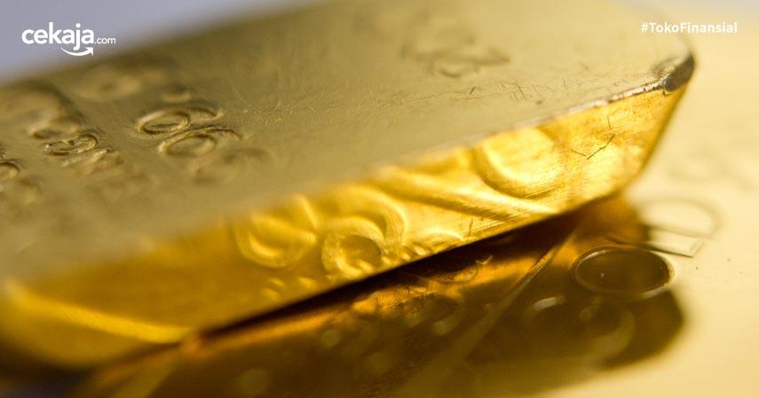 Harga Emas Antam Stagnan Jelang Libur Akhir Pekan