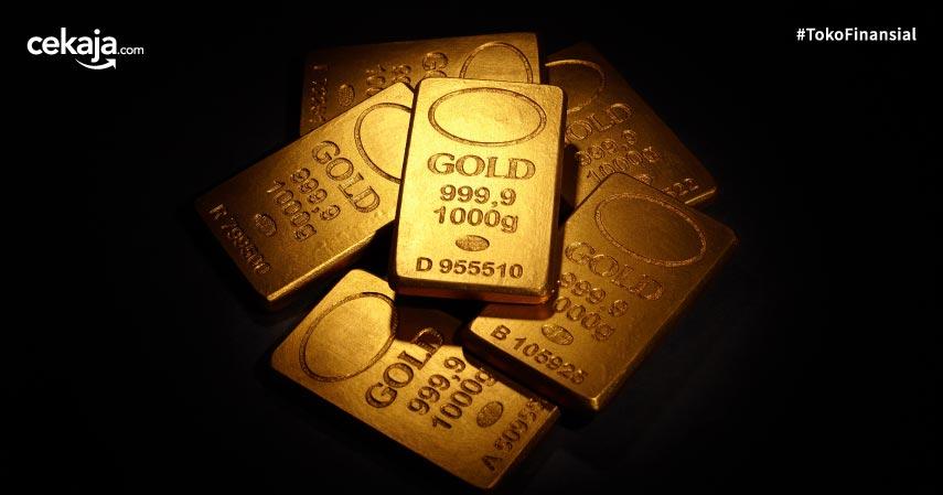 Awali Pekan, Harga Emas Antam Stagnan di Rp747.000 per Gram