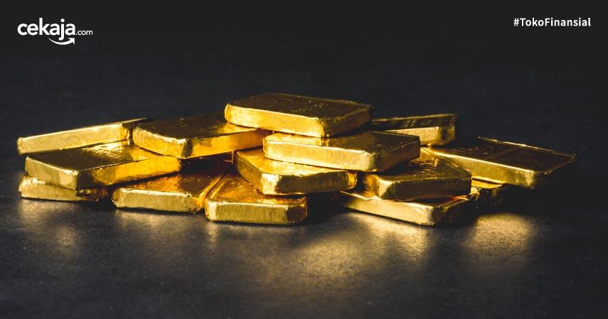 Harga Emas Antam Mager Pada Perdagangan Hari Ini