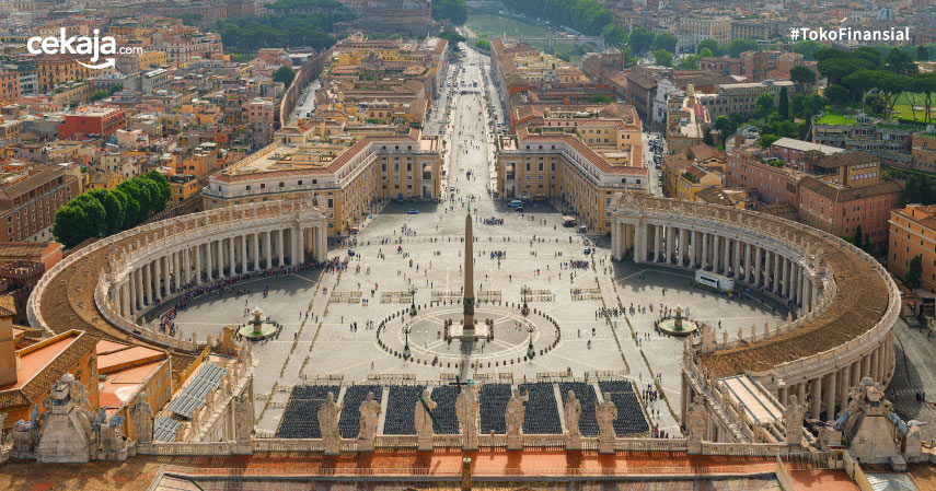 Biaya Wisata Rohani ke Vatikan, Cek Rincian Lengkapnya