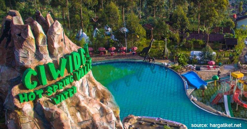 Ciwidey Valley Hot Spring Water Park - Tempat Wisata Paling Banyak Dikunjungi di Bandung dan Sekitarnya