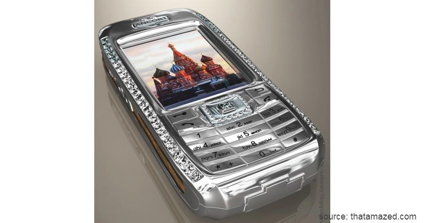 Diamond Crypto Smartphone - 10 HP Termahal di Dunia yang Harganya Bikin Melongo