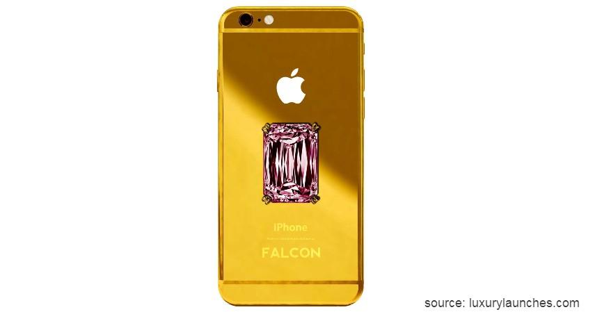 Falcon Supernova iPhone 6 Pink Diamond - 10 HP Termahal di Dunia yang Harganya Bikin Melongo