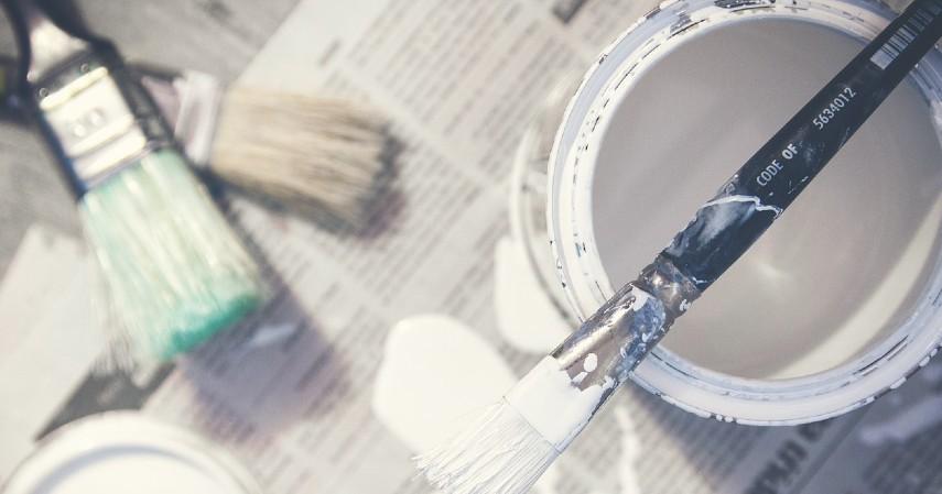 Ganti Warna Cat - Cara Renovasi Dapur Biaya Murah Di Bawah 5 Juta