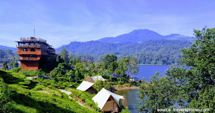 Glamping Lakeside Ciwidey - Tempat Wisata Paling Banyak Dikunjungi di Bandung dan Sekitarnya