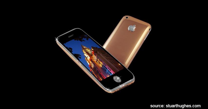 Goldstriker iPhone 3GS Supreme - 10 HP Termahal di Dunia yang Harganya Bikin Melongo