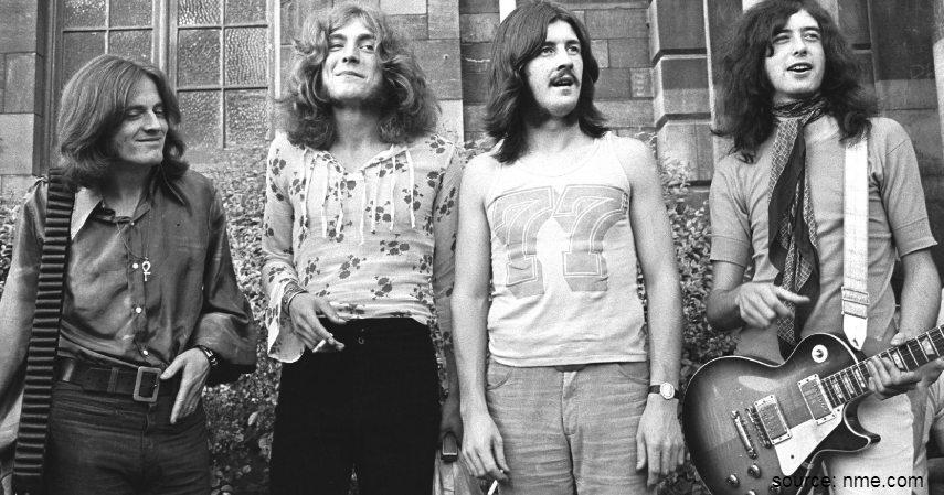 Led Zeppelin - Band Rock Terkaya di Dunia dari Metallica hingga The Beatles