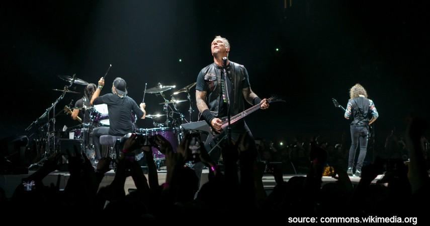 Metallica - Band Rock Terkaya di Dunia dari Metallica hingga The Beatles