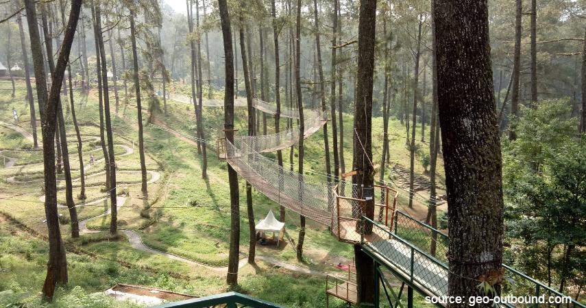 Orchid Forest Cikole Lembang - Tempat Wisata Paling Banyak Dikunjungi di Bandung dan Sekitarnya
