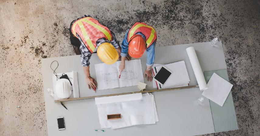 Pilih tukang bangunan