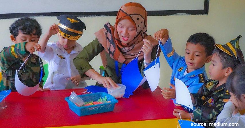 Pendidikan Anak Usia Dini Ini Beda Paud Playgroup Dan Tk