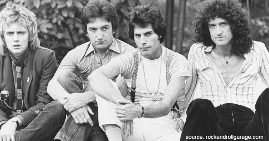 Queen - Band Rock Terkaya di Dunia dari Metallica hingga The Beatles