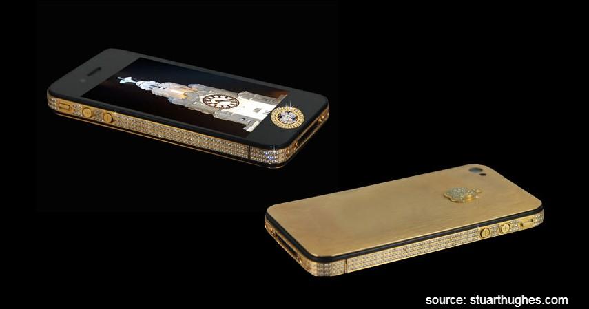 Stuart Hughes iPhone 4S Elite Gold - 10 HP Termahal di Dunia yang Harganya Bikin Melongo