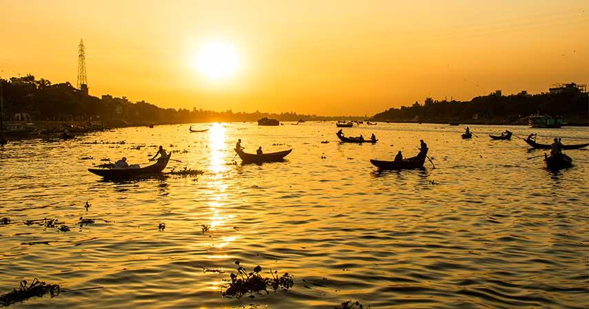 Sungai Buriganga Bangladesh