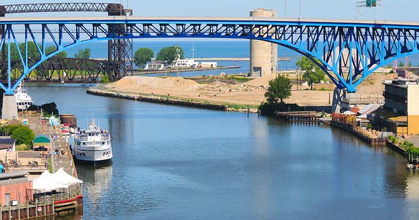 Sungai Cuyahoga Ohio