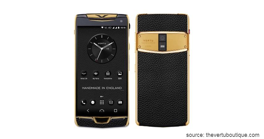 Vertu Golden Phone - 10 HP Termahal di Dunia yang Harganya Bikin Melongo