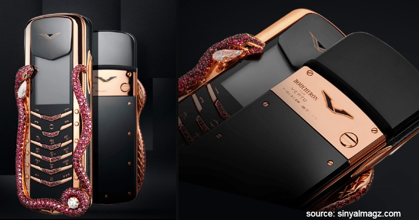 Vertu Signature Cobra - 10 HP Termahal di Dunia yang Harganya Bikin Melongo