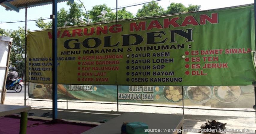 Warung Makan Golden - Warung Makan Seafood yang Enak dan Murah di Lamongan