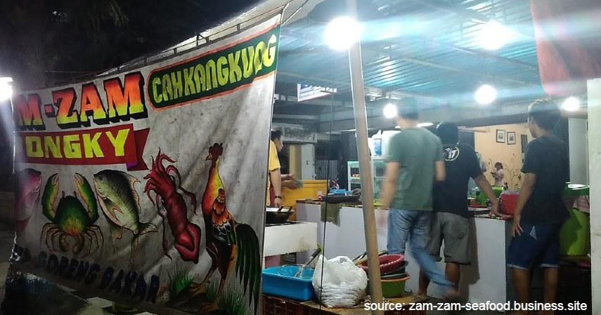 Zam-zam Seafod - Warung Makan Seafood yang Enak dan Murah di Lamongan