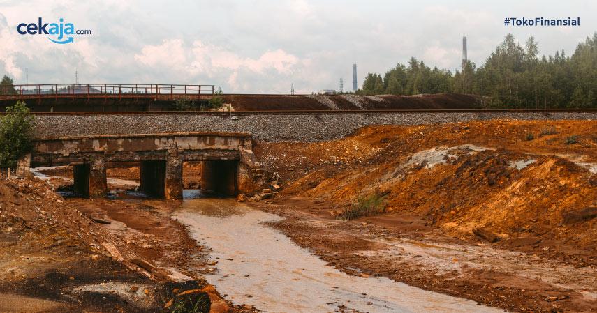 Sungai Terkotor di Dunia, Indonesia Masuk Tidak ya?