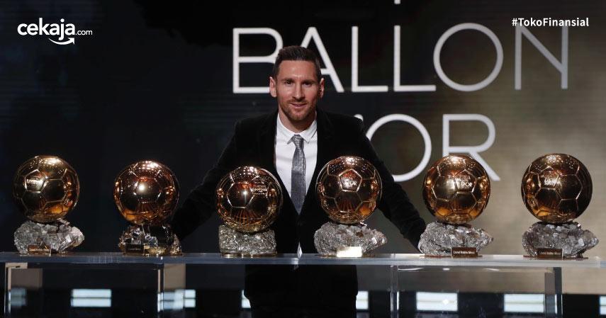 Fakta dan Kontroversi Dibalik Ballon d'Or ke-6 Lionel Messi